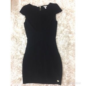 Black Fitted Guess Dress